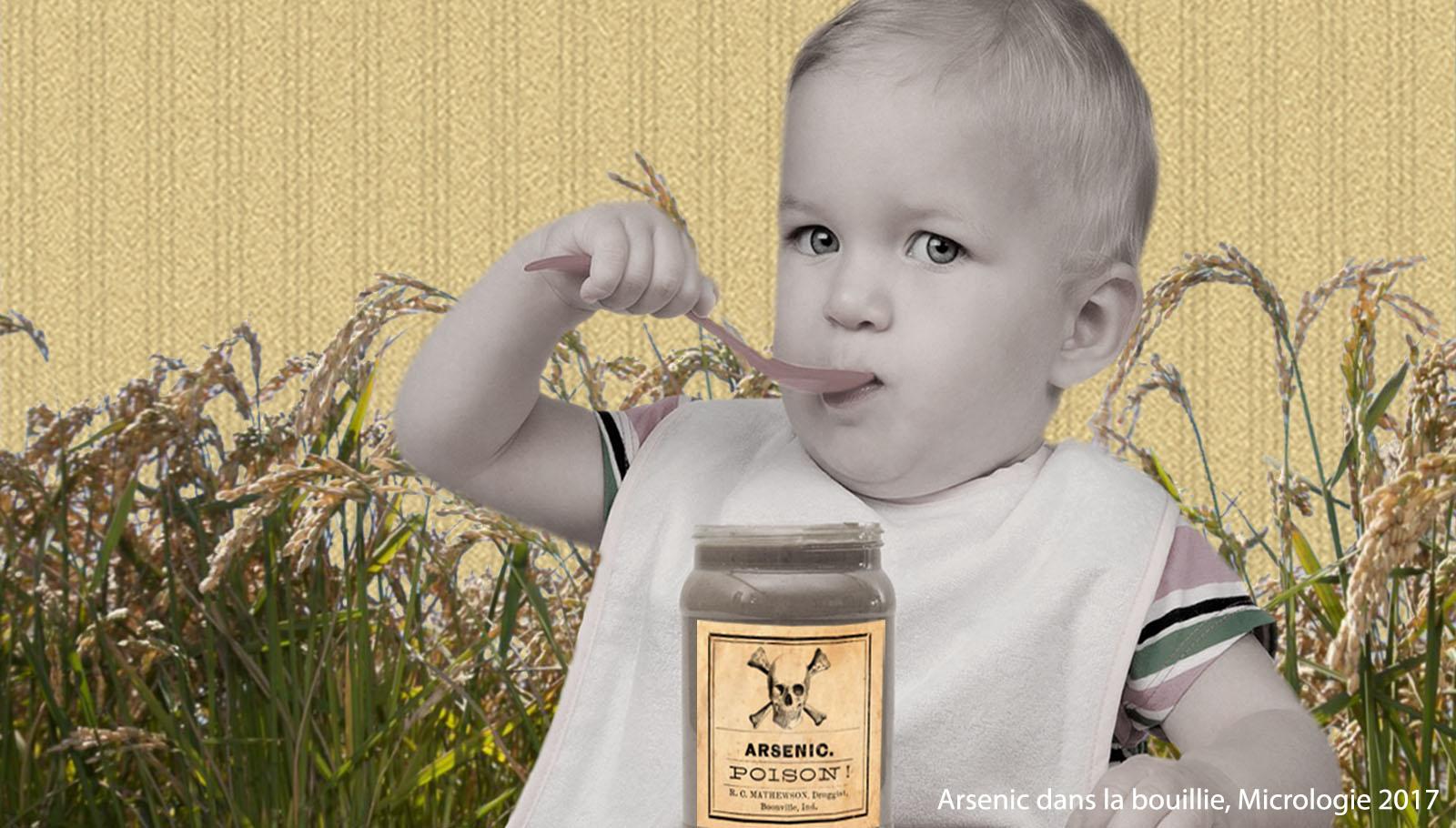 Arsenic pour bébé, Micrologie 2017