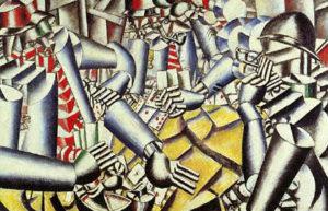 La partie de cartes, Fernand Léger, 1917