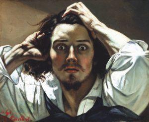 Le Désespéré, Courbet, 1845