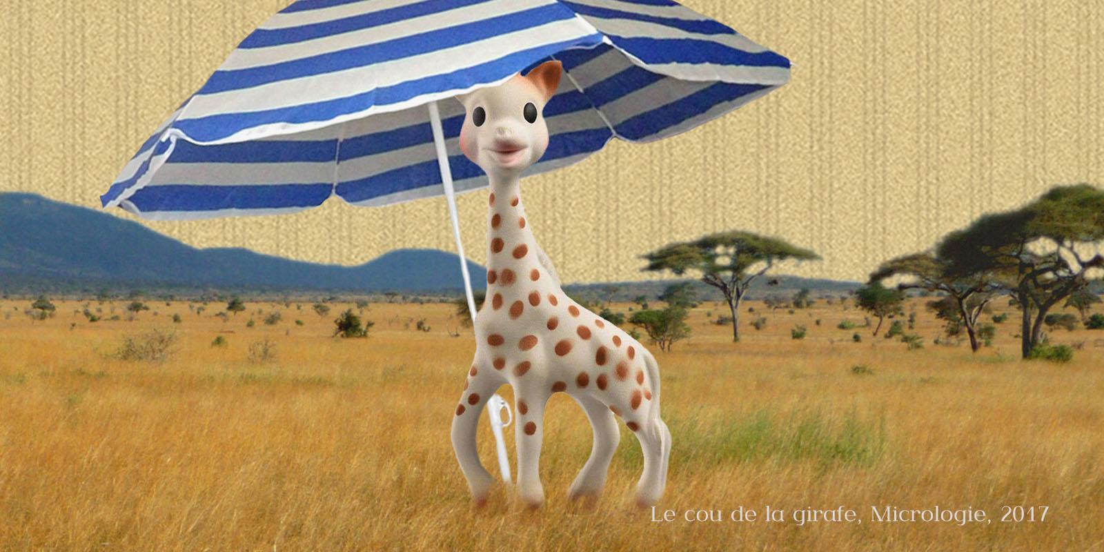 Le coup de la girafe, micrologie