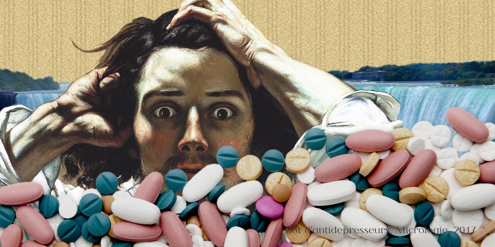 Flot d'antidépresseurs, micrologie